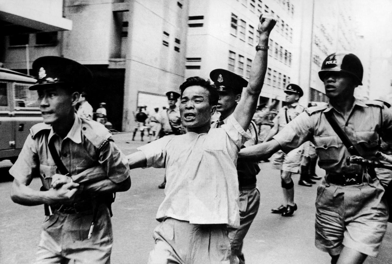 政府報告指,六七暴動是由內地文化大革命影響,而由左派發動的。(Getty Image)