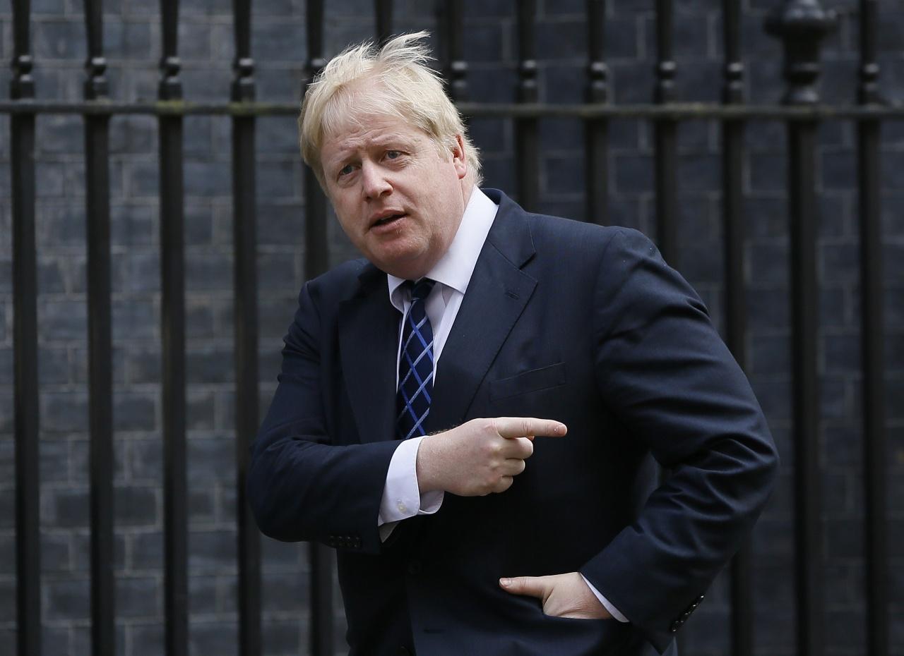 倫敦前市場約翰遜支持脫歐,成為外界焦點。(美聯社)