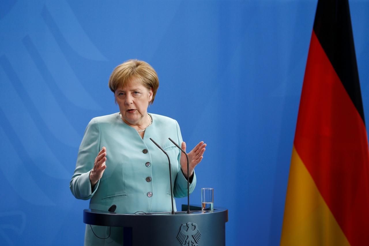 德國總理默克爾,致力把英國留在歐盟。(路透社)