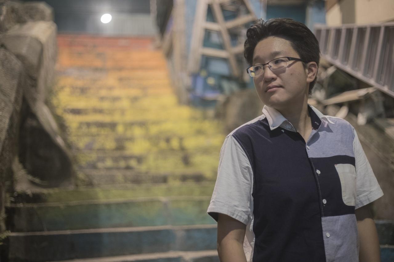 LGBT Tour 導遊Benita(余俊亮攝)