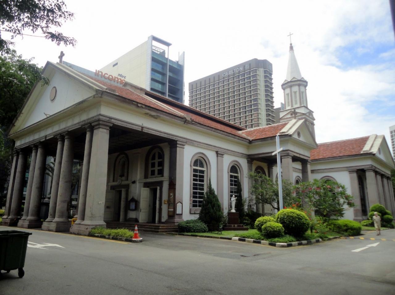 善牧主教座堂是新加坡國內最大且最富歷史的教堂之一。(網上圖片)