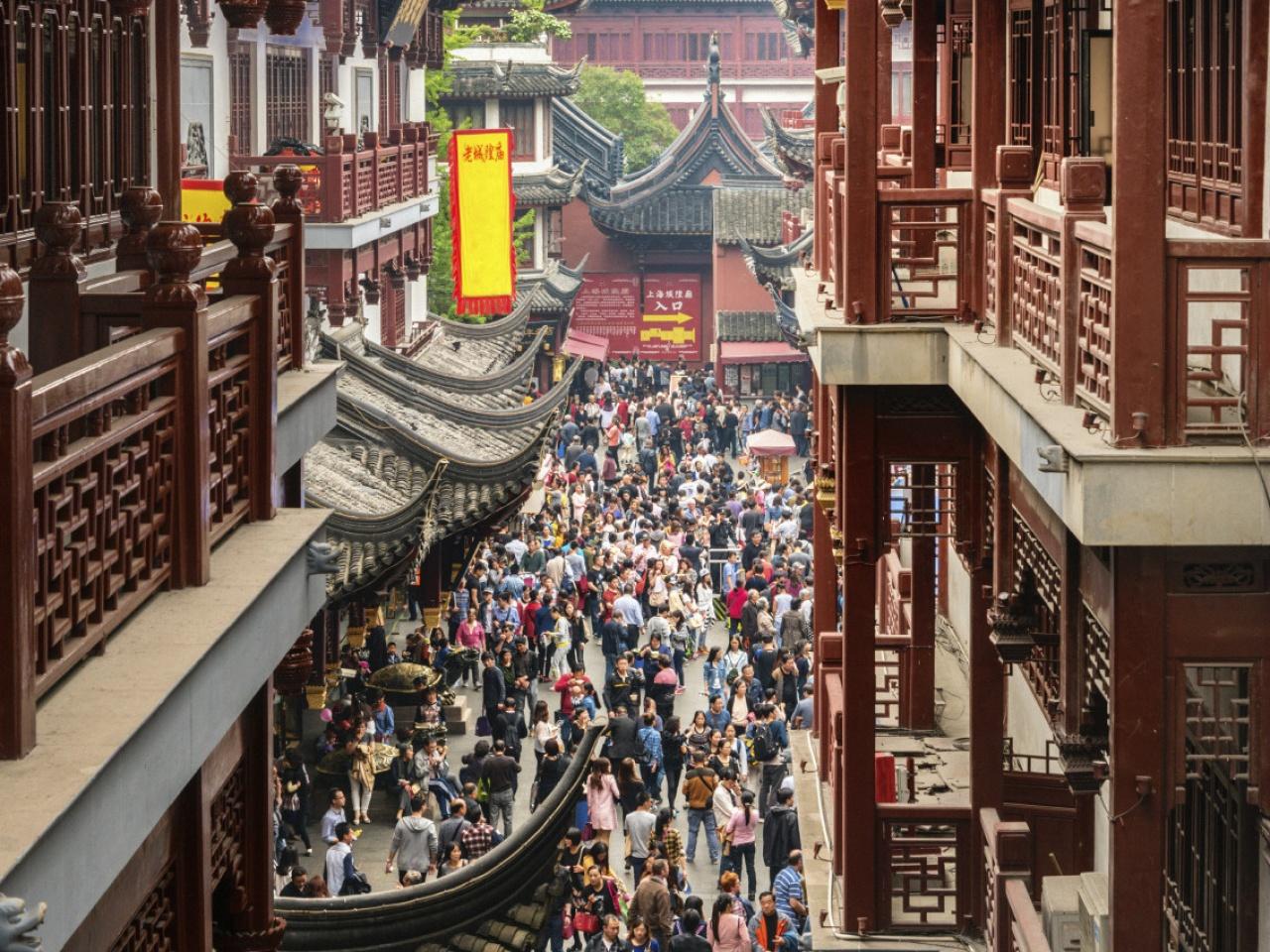 中國的旅遊市場龐大且極具潛力,線上旅行社和元搜索引擎在中國同樣競爭激烈。(Getty Images)