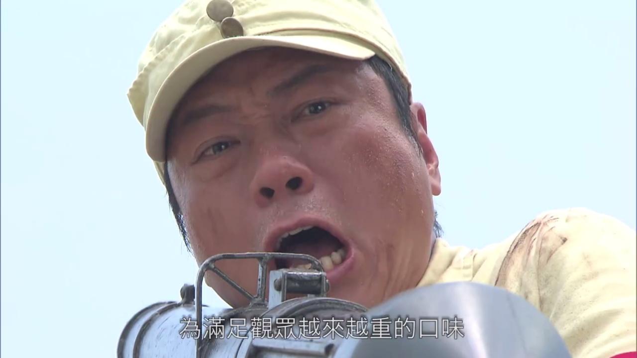《巾幗3》轉玩重口味情節,身為主角的黎耀祥就被安排不停殺人。(影片截圖)