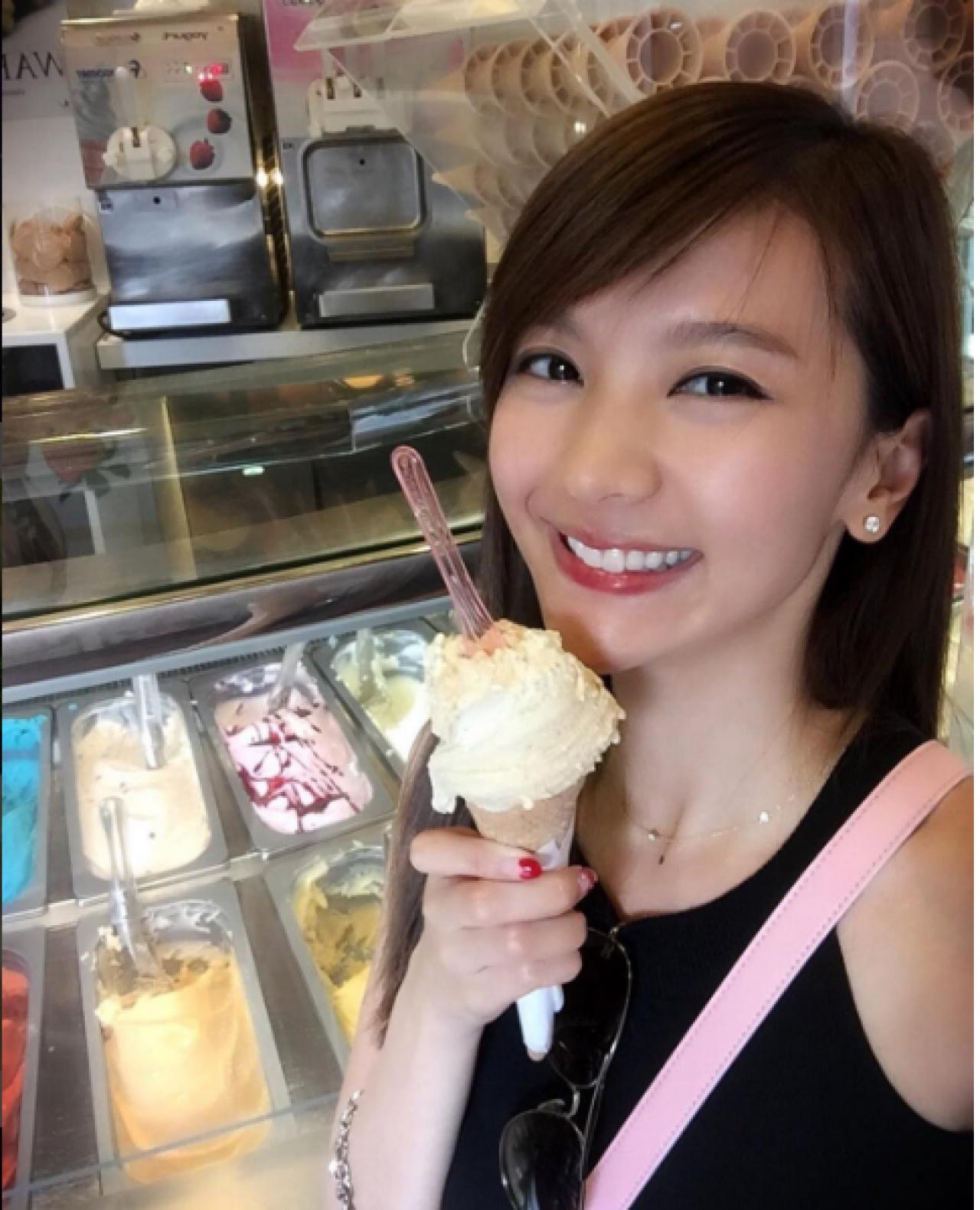 陳華鑫樣子甜美,全身散發仙氣,成為高登女神。(Instagram圖片)