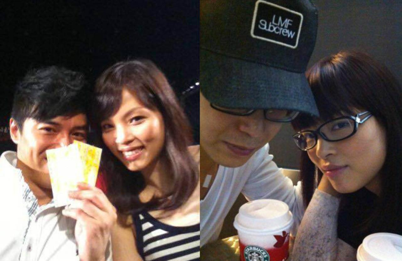 李潤庭在facebook經常放閃,同空姐老婆表面好恩愛。(Facebook圖片)
