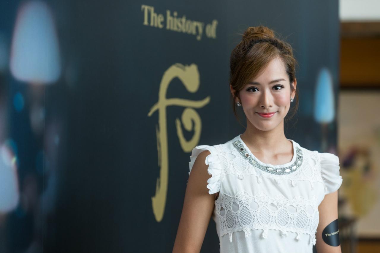 吳幸美身為《東張西望》主持,但她表示和李潤庭不太認識。