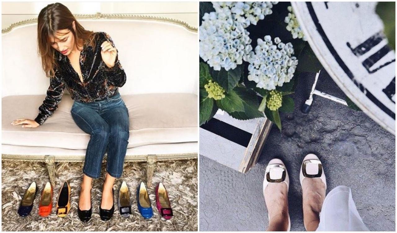 品牌的平底鞋款式亦非常多,日常穿著較易carry得到。(網上圖片)