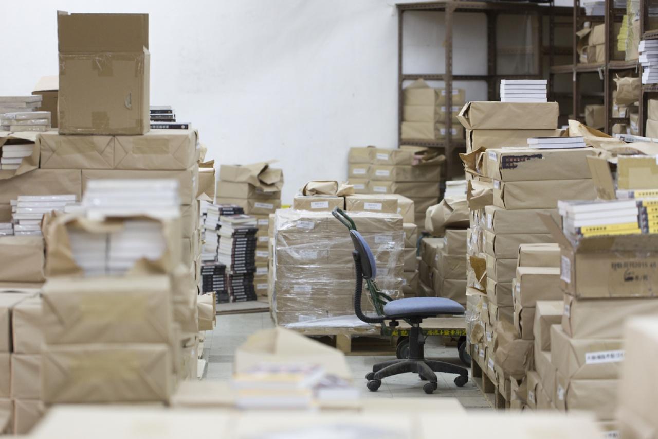 鄭義開始為李波處理柴灣倉庫。(資料圖片)